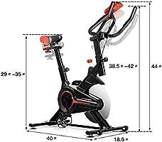 LOEFME Exercise Bike Cardio Fitness Training Indoor Red Exercise Bike-Max 150kg