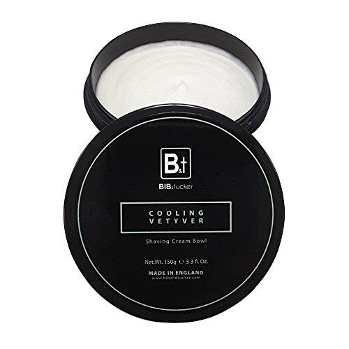 Bib & Tucker Luxury Cooling Vetyver Shaving Cream 5.3 fl oz