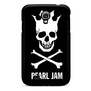 Shock-Absorbing Cell-phone Hard Covers For Samsung Galaxy S4 (nqO1652Hdyo) Custom Realistic Pearl Jam Pattern