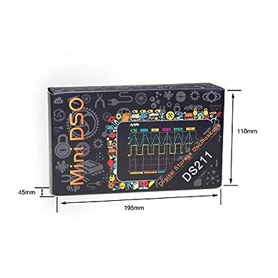 Dso Digital Oscilloscope, Mini Oscilloscope, Portable Mini Handheld Touch Screen Digital Storage Oscilloscope