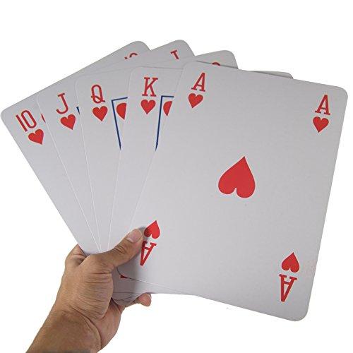 Oversize Playing Cards - BonBon JUMBO Oversized Playing Card Deck (8