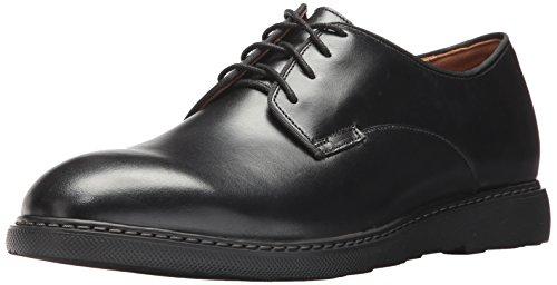 Bostonian Men's Cahal Plain Oxford, Black Leather, 11.5 Medium US