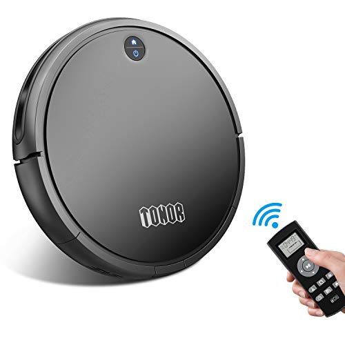 sunavo  Robotic Vacuum Cleaner with Self-Charging, TONOR I5 Robot Vacuum Sweeper Strong Suction,Super Quiet 65db,Anti-Collision Anti-Drop Sensors Protection Carpet Hardwood Floor Pet Hair