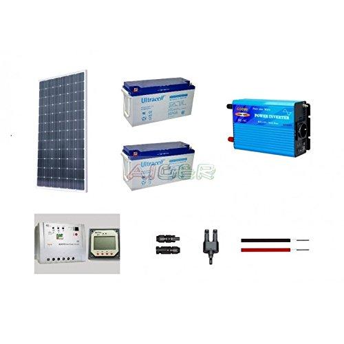 Kit fotovoltaico de 250 W a 230 V