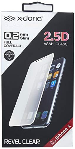 Película de Vidro 25D Tela Inteira Para Iphone X, X-Doria, XD351-02, Branco