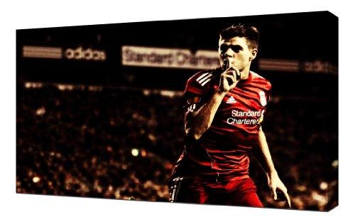 Liverpool Steven Gerrard 5 - Canvas Art - Steven Gerrard Canvas