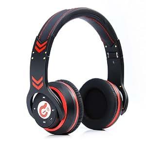 #Syllable G18# Foldable Wireless Bluetooth 4.0 auricular con micrófono(Negro)
