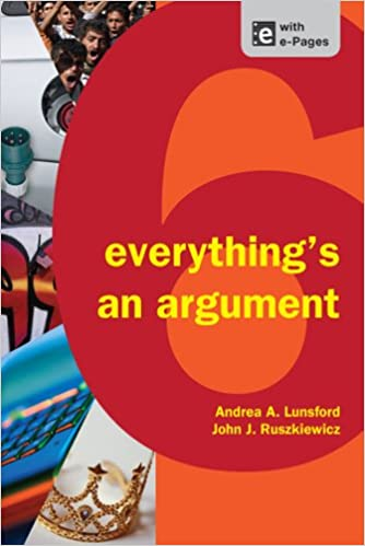Everything S An Argument Andrea A Lunsford John J