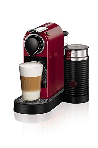 -[ NESPRESSO by Krups XN760540 Citiz and Milk Coffee Machine, 1710 Watt, Red  ]-