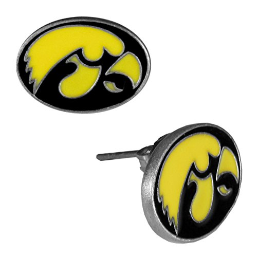 NCAA Iowa Hawkeyes Stud Earrings ()