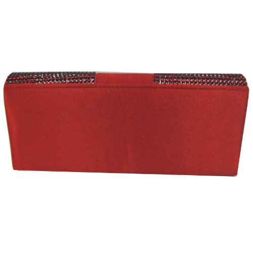 RED Red Lili Women's Just Clutch Lili 26x11x5cm Just UnYqXwFz