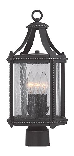 Artisan Pardo Wash Palencia 3 Light Outdoor Post Light by Designers Fountain