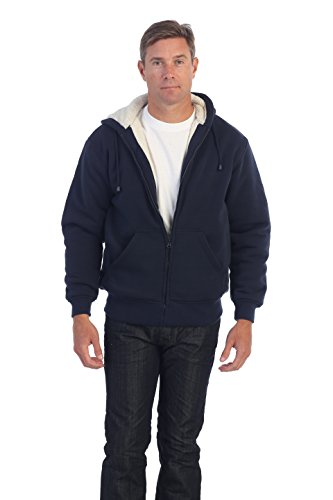 Zip Fleece Hoody Jacket - 1
