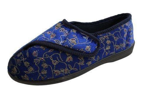 Surf4Shoes , Damen vorne geschlossen , Blau - Dunkelblau - Größe: 40