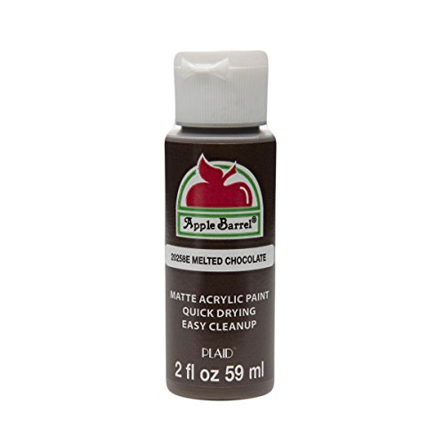 Paint in Assorted Colors (2 oz), 20258, Melted Chocolate (Chocolate Barrels)