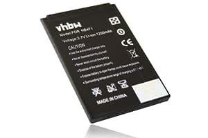 BATERÍA LI-ION compatible con HUAWEI U8000, U8230, U9120 sustituye HB4F1 / BLT005