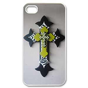 Hard Shell Case Of Cross Customized Bumper Plastic case For Iphone 4/4s by icecream design