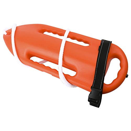(Amarine Made 3 Handle Lifeguard Rescue Can Floating Buoy Tube for Water Life)