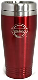 Nissan Travel Mug Travel Coffee Mug Cup Stainless Steel Tea Mug Thermo - Red