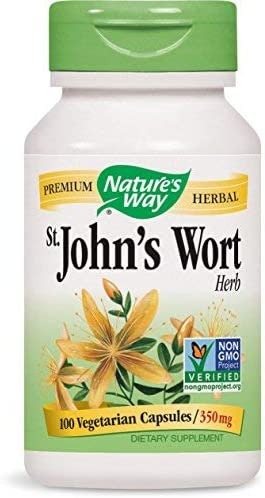 St. John s Wort Promotes a Positive Mood 100 Capsules