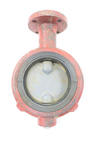 (WECO 12N Iron Wafer 4IN Butterfly Valve 175CWP D593106)