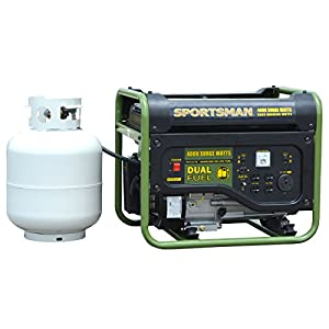 Sportsman GEN4000DFC, 3500 Running Watts/4000 Starting Watts, Dual Fuel Powered Portable Generator