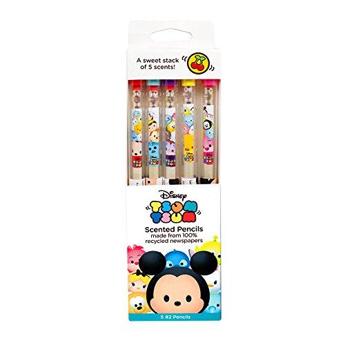 Disney Tsum Tsum Smencils 5-Pack of HB #2 Scented Pencils