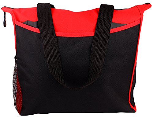 tote-bag-17-inches-travel-shopping-business-handle-carrier-by-makexpress-red