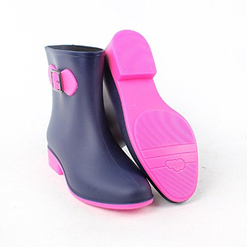 lluvia de rose moda red Sra botas x1qZUf6w60
