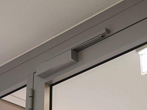 Dorma Door Closer TS93 G BC/Set of 2, Silver, Basic Slide