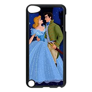 iPod Touch 5 Case Black Disney Cinderella Character Cinderella BXL Cell Phone Case Custom Unique