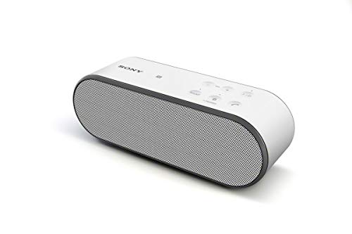 Sony SRSX2 Ultra-Portable NFC Bluetooth Wireless Speaker (White) with Speakerphone (Renewed)