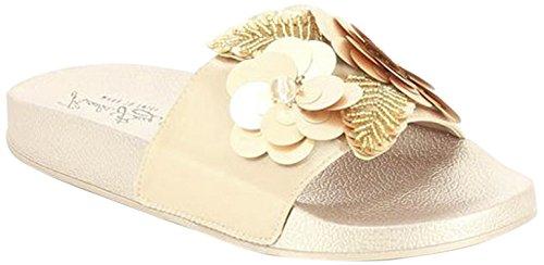 Oro Sandales BAY Bout 250 Rose Ouvert Femme Rosa KOALA O'Connor 0ZAwAa