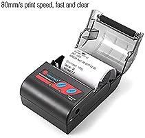 Eillybird Mini Impresora Tickets Termica Inalámbrica ...