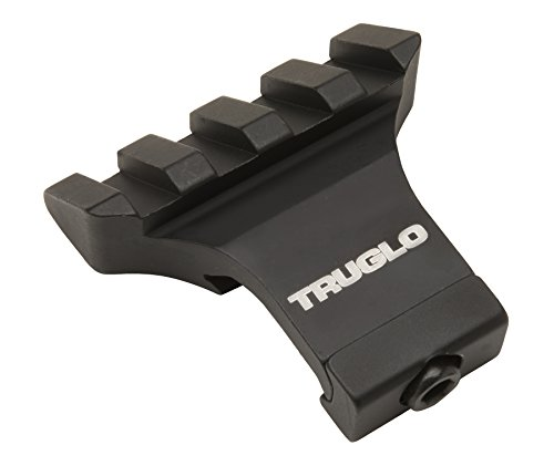 TRUGLO Offset Picatinny Riser Mount for Scopes or Dot Optics