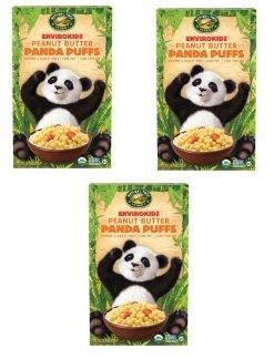 ENVIROKIDZ ORGANIC CEREAL KID PANDA PUFF ORG, 10.6 (Envirokidz Panda Puffs)