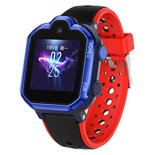 Price comparison product image Keeplus Strap Band for HuaiWei 3pro,  Fashion Children Wristband Breathable Silicone Softness Smart Watch Bracelet (Red)