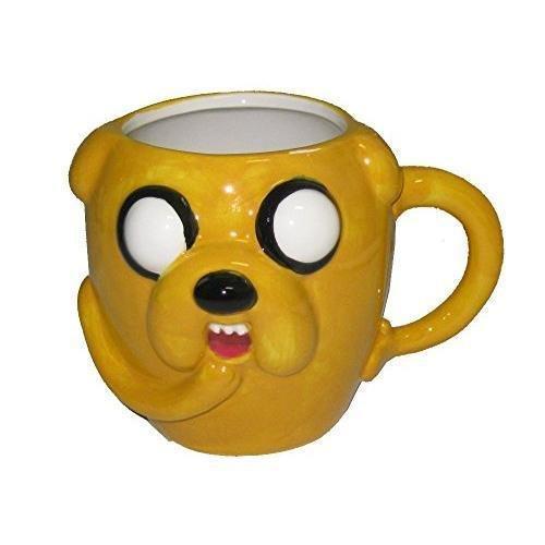 Adventure Time OFFICIAL Jake Moulded Ceramic Coffee Mug, 16oz (Adventure Time Lumpy Space Princess Costume)