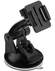 Ommi–KFZ vantuz ayarlanabilir in soket montaj için GoPro Hero 1233+ 4SJCAM SJ4000SJ5000–-tutucu ön cam Akvaryum–Siyah
