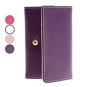 PU Leather Case with Card Slot for iPhone 4 and iTouch --- COLOR:Rose