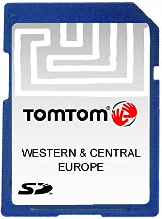 TomTom 9UCA.057.01 - Tarjeta SD con mapas de Europa central y occidental, versión 8.30: Amazon.es: Electrónica