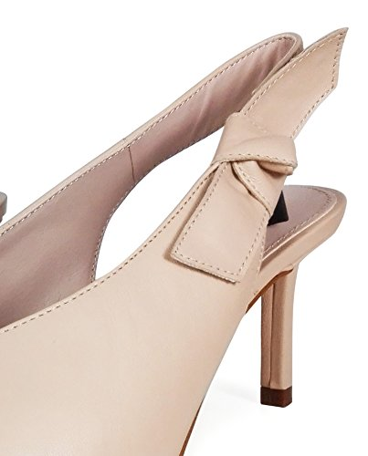 Uterque Women Slingback shoes with metal toe detail 4041/351 (38 EU | 7.5 US | 5 UK) by Uterque (Image #5)