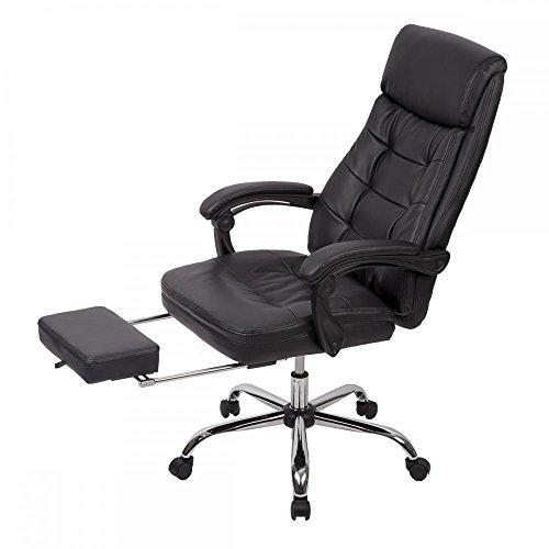 Recliner Office Chair PU High Back...