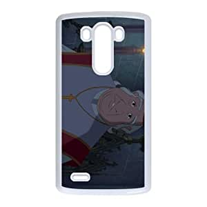 LG G3 Cell Phone Case White The Hunchback of Notre Dame Character The Archdeacon tgbg