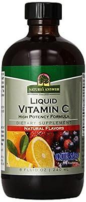 Nature's Answer Liquid Vitamin C, 8-Fluid Ounces