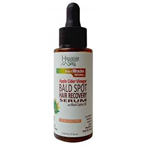 Amazon Black Castor Oil Bald Spot Hair Growth Serum