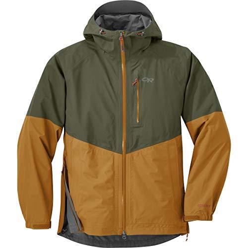 Outdoor Research Men's Foray Jacket, Juniper/Curry, Medium