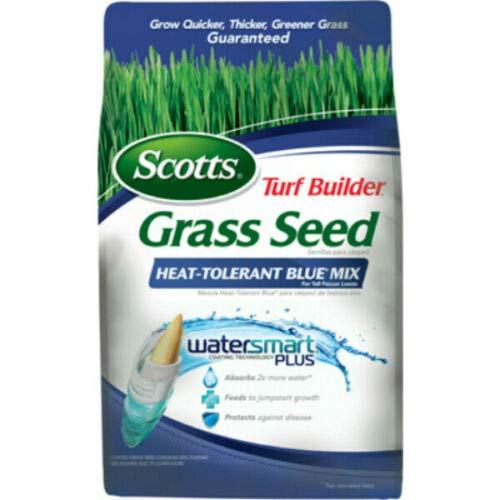 Scotts 18308 Turf Builder Grass Seed Heat-Tolerant Blue Mix, 20 Lbs