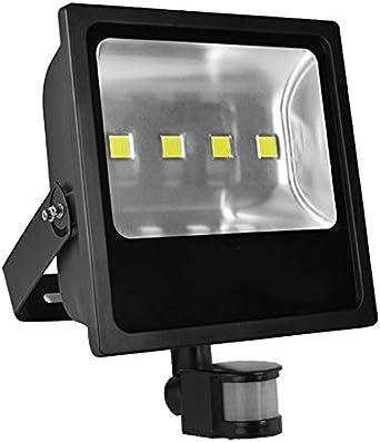 Outdoor Security Light Flood LED with PIR Motion Sensor Slimline Floodlight NEW#