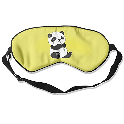 Price comparison product image Ming Horse Adult Children Unisex Cute Panda Eat Bamboo Eyeshade Sleep Mask Eye Mask